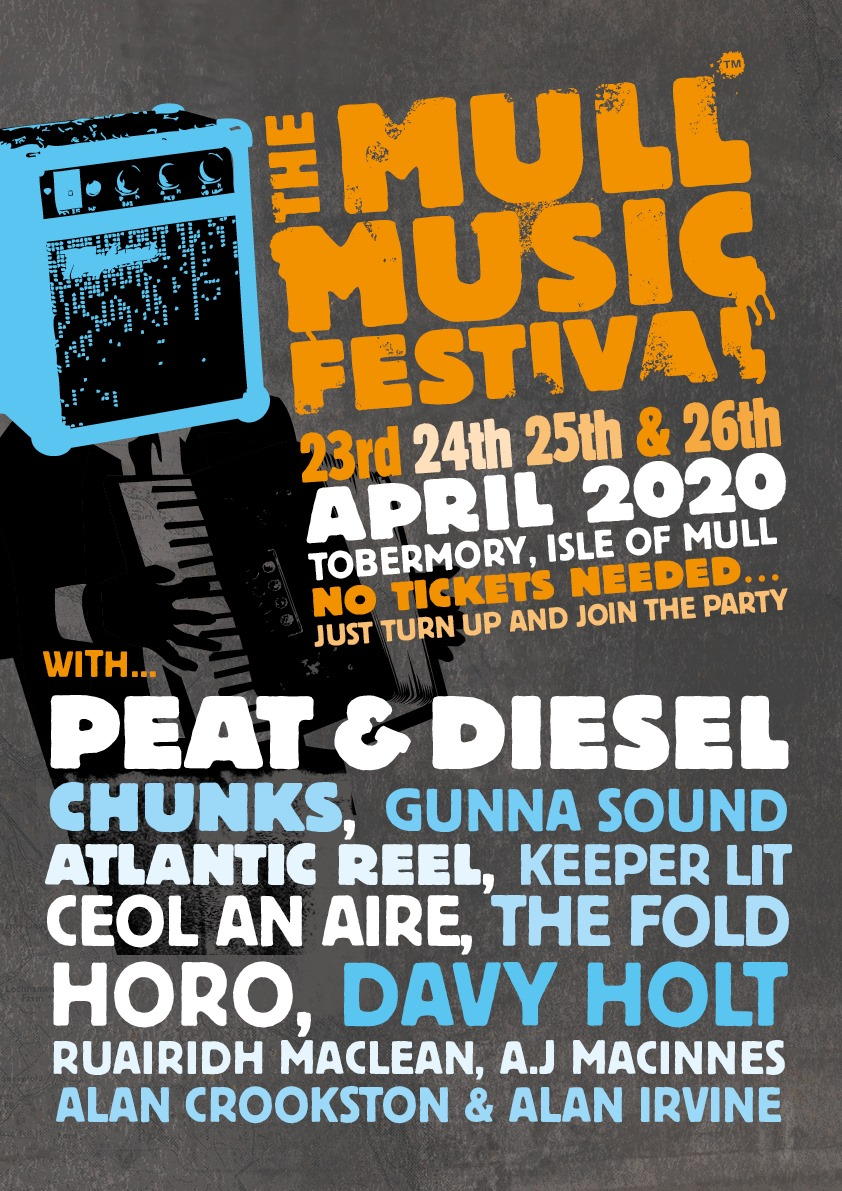 Mull Music Festival Billboard