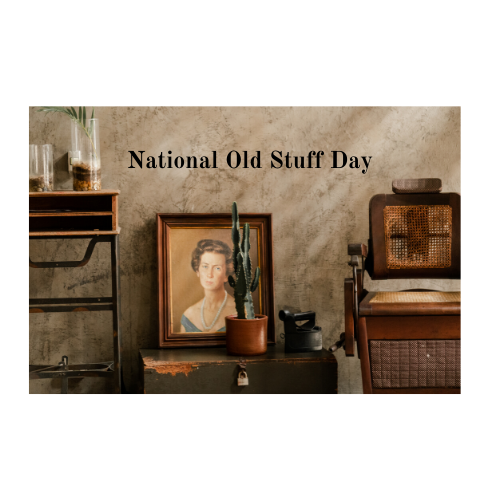 Old furniture and pictures
