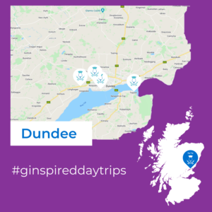 Dundee Day Trip Map