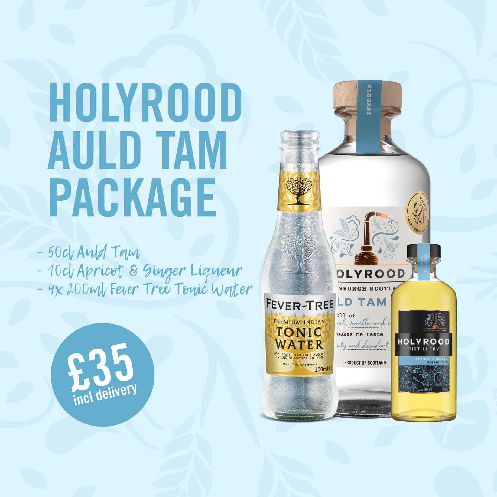 Holyrood Gin Package