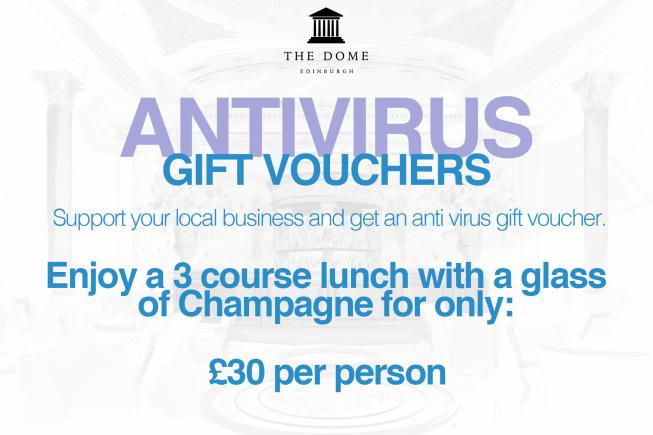 Gift Voucher, from The Dome, Edinburgh.