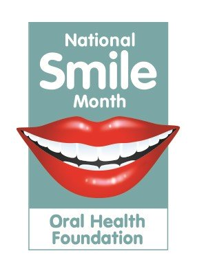 National Smile month logo