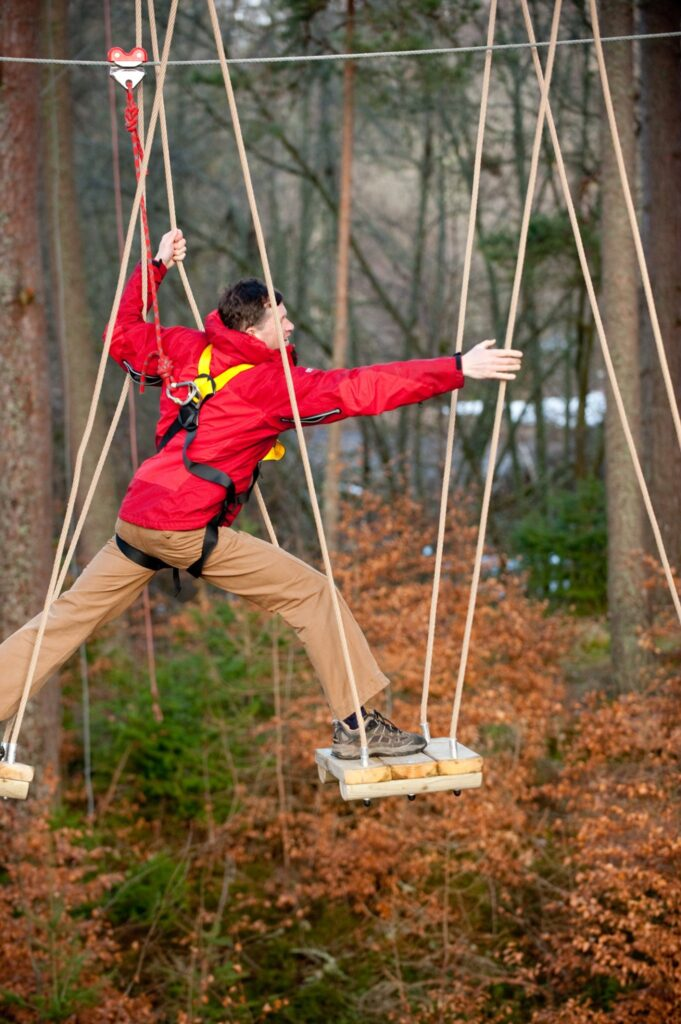 Ropes Course at Rothiemurchus