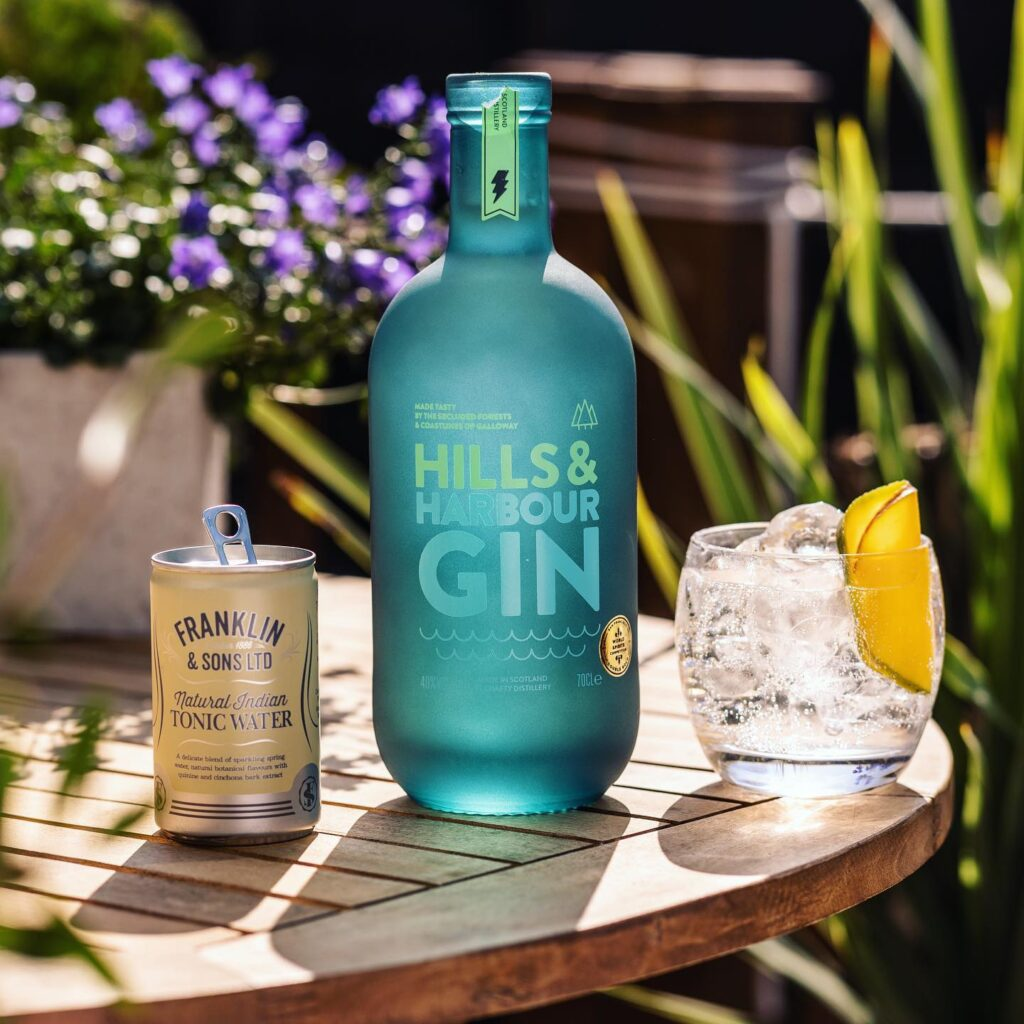 Hills & Harbour Gin image