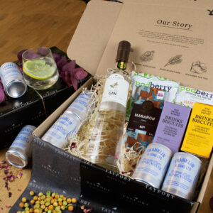 Scottish food and gin hamper