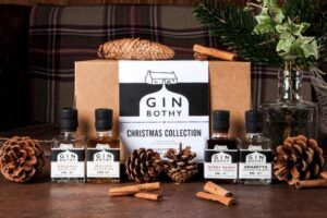 Gin Minitures christmas collection