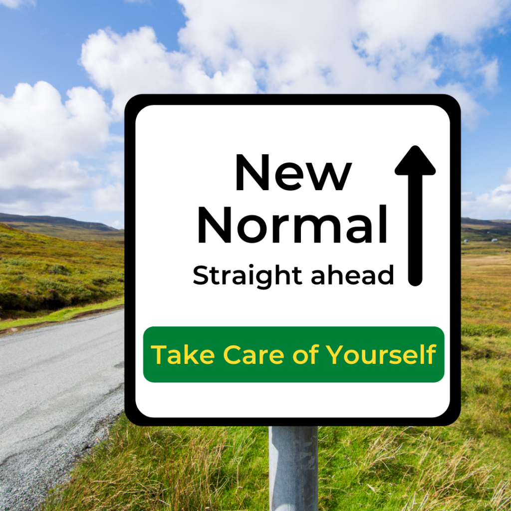 New Normal Road sign